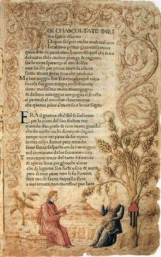 Petrarch: Canzoniere and Trionfi, 1470, Incunable (Inc. Ven. 546), Biblioteca Nazionale Marciana, Venice