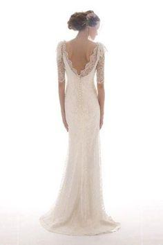 the back of this dress is SO pretty <3  @Melanie Ellsworth