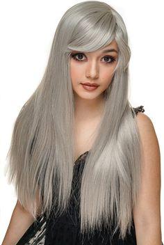 Rockstar Wigs - Bella Silver Wigs