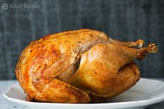 How to cook a turkey for Thanksgiving.  SimplyRecipes.com