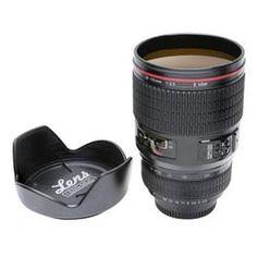 Camera Lens Mug  $29.95