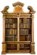 Early Georgian Bookcase by John Channon, 1740.