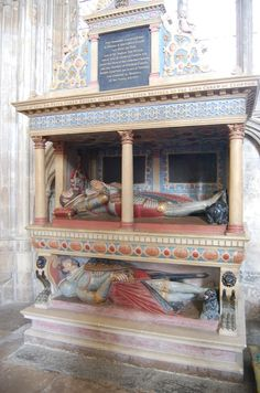 Carew Tomb, Exeter Cathedral by Julian P Guffogg, via Geograph