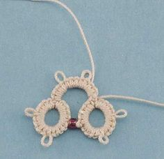 Learn How To Add Beads in Tatting by Handy Hands Tatting