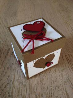 Stampin' Up! Heart Box