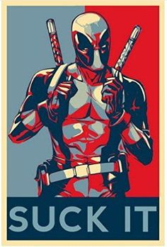 #marvel #marvelcomics #deadpool #mercwithamouth #suckit #poster #comicwhisperer #superheroes