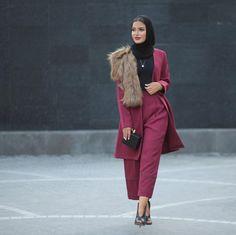 34 magnifiques looks pour porter son voile avec élégance cet hiver