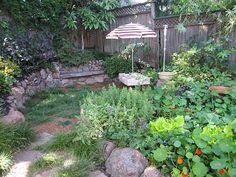 rock borders & walls #garden