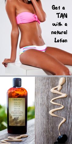 Get a Beautiful Deep Dark Tan without a tanning bed or the sun.  This revolutionary self-tanner provides beautiful color while benefiting your skin with botanical ingredients.  It is made with nature's vitamin rich oils and butters that give you a luminous look and a flawless tan.