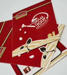 Information postcard design for local food cooperative- designed by Amy Gehling - amygehling.com - graphic design - print design Find Work, Postcard Design, Graphic Design Print, Amy, Cards, Food, Meal, Eten, Meals
