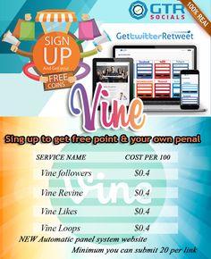 Buy vine followers