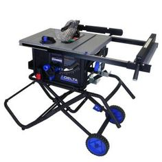 Kobalt 10 in table saw this would make a great gift merry delta 10 in 15 amp portable table saw with folding stand keyboard keysfo Choice Image