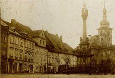Elbogen - Markt um 1880
