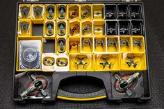 My non-Plano storage solution (now storing Epic ships)   Star Wars: X-Wing Miniatures Game   BoardGameGeek