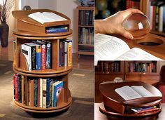Good Bookcase Designs To Build Yourself | Home » Woodworking » Woodworking Plans Rotating  Bookshelf Pictures