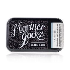 Review: Mariner Jack 'Anchor' Beard Balm. @marinerjack #beard #beards #bearded #beardbalm #balm #balms #review #reviews #reviewed #reviewer #productreview #beardcare #grooming #product #products #natural #British #Natural #assessed #satonmybutt