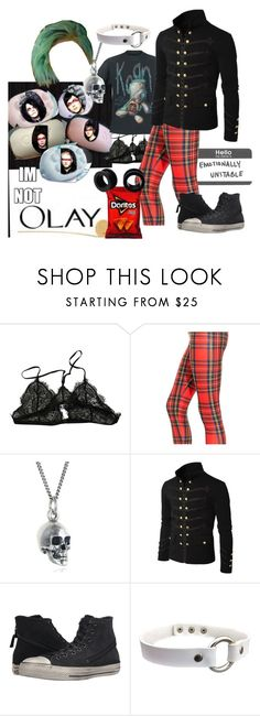 """""""You only live forever in the light you make"""" by diana-littlefield ❤ liked on Polyvore featuring Anine Bing, Black Pearl, Doublju and Converse"""