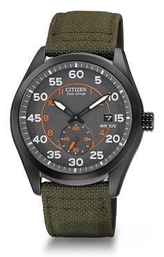 880cf836ad Citizen Eco-Drive Men s Strap BV1085-22H Men s Straps Citizen Watch Field  Watches