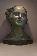 Art Deco Bust of Juliene Lullier Demetre