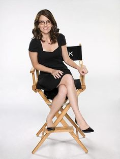 Tina Fey -- hair and frames.
