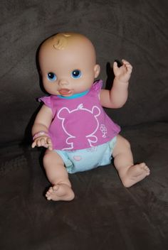 I was so excited to get the girls Baby Alive Dolls now that they are potty trained to remind them that babies use diapers. I still remember getting mine when I was little!!!! They had been eyeing…