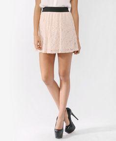 Short Lace Skirt | FOREVER21 - 2000043365