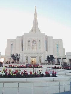 Gilbert, Arizona Temple. I was part of this dedication of this temple with 12,000 other youth! It was an amazing experience!