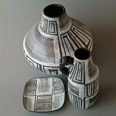 Various ceramics by Ziegler, Schaffhausen  around 1955 Switzerland