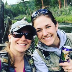 Happy birthday to this girl @taradactyl524 / / my ultimate fishing date who drives to Montana for two day camping stints with an 8 hour drive each way can you move here already?