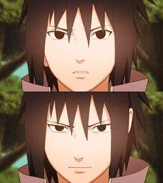 Serious Sasuke is totally seriousing at you.