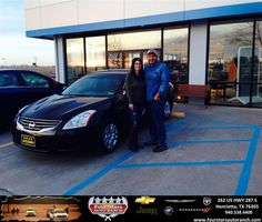 #HappyAnniversary to Shelia and JR Rodriguez on your 2010 #Nissan #Altima from Everyone at Four Stars Auto Ranch!