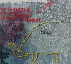 Tilleke Schwarz: Themes 1987(detail)