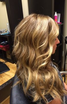 honey blonde hair by DKW