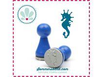 Mini-Stempel: Seepferdchen