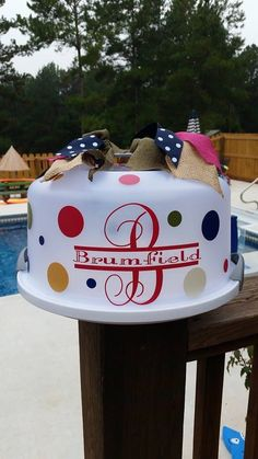 Cake Carrier Target Personalized Cake Carrier  For Momadd A Cake Mix Frosting And