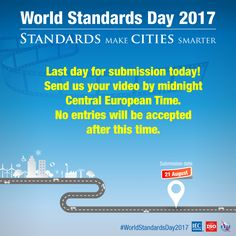 The World Standards Day competition is back. Poster Competition, We Need You, World, Day, The World