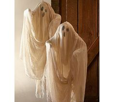 DIY Pottery Barn Hanging Ghost Tutorial