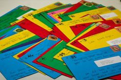 This is so cool!! 60 postcards listing 60 things you love about a person for their 60th birthday. Could be for any birthday!