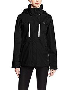 Helly Hansen Bykle - Chaqueta para mujer, chaqueta, mujer, color negro, tamaño large