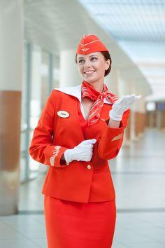 Красиві стюардеса