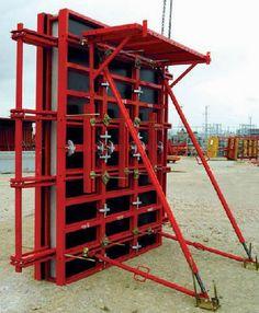 Steel formwork / wall / for concrete LOGICA Mesa Imalat Sanayii ve Ticaret A.S.