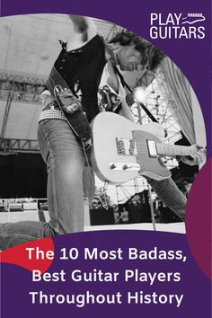 Have you ever wondered who influenced the way we do guitar playing today? Find out who we think are the best, most badass guitarists of all time. Jazz Guitar, Guitar Solo, Music Lessons, Guitar Lessons, Heavy Metal Guitar, Guitar Riffs, The Yardbirds, Best Guitar Players, Chuck Berry