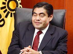 Angela Campos (Miguel Barbosa Huerta (PRD), Presidente del Senado.)
