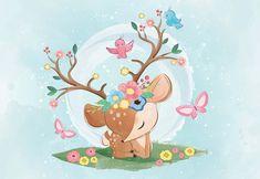 Fototapet - Sadie the Deer Princess #animal #graphic motif #tapet #wallpapers #wallpapersticker #wallpaperstiker #wallmural #wallmurals #wallmuraldesign #wallmuralart #wallmuralscenery #glix #decor #acasa #wallart #wallartdecor #wallarts #wallartprint #wallartofphotography #wallartdesign #homedecor #homedecoration #Home #homesweethome #homedesign #homestyling