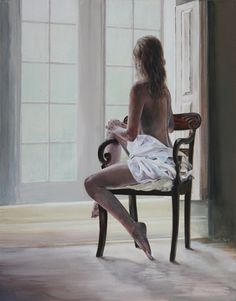 "Saatchi Online Artist Andy Farr; Painting, ""Morning"" #art"