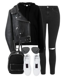 """""""Sem título #1291"""" by oh-its-anna ❤ liked on Polyvore featuring Topshop, IRO, Acne Studios, STELLA McCARTNEY, Pierre Hardy and Michael Kors"""