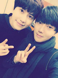 Yesung's twitter with Kyuhyun