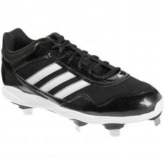 Adidas Mens Excelsior Pro Low Metal Cleats 11 1/2 Us Black/Silver