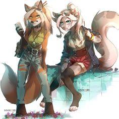 furry fox, furry art, furry, furry, fandom, furry f, HIHIKORI