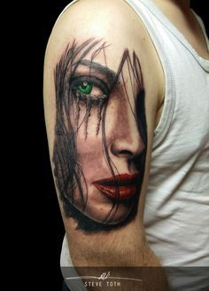 Image result for WOMEN FACE TATTOO